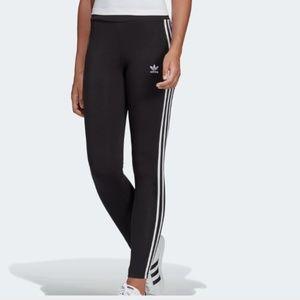Adidas original 3 stripe leggings black